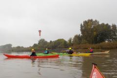 Paddeln für Mitglieder auf der Elbe 2